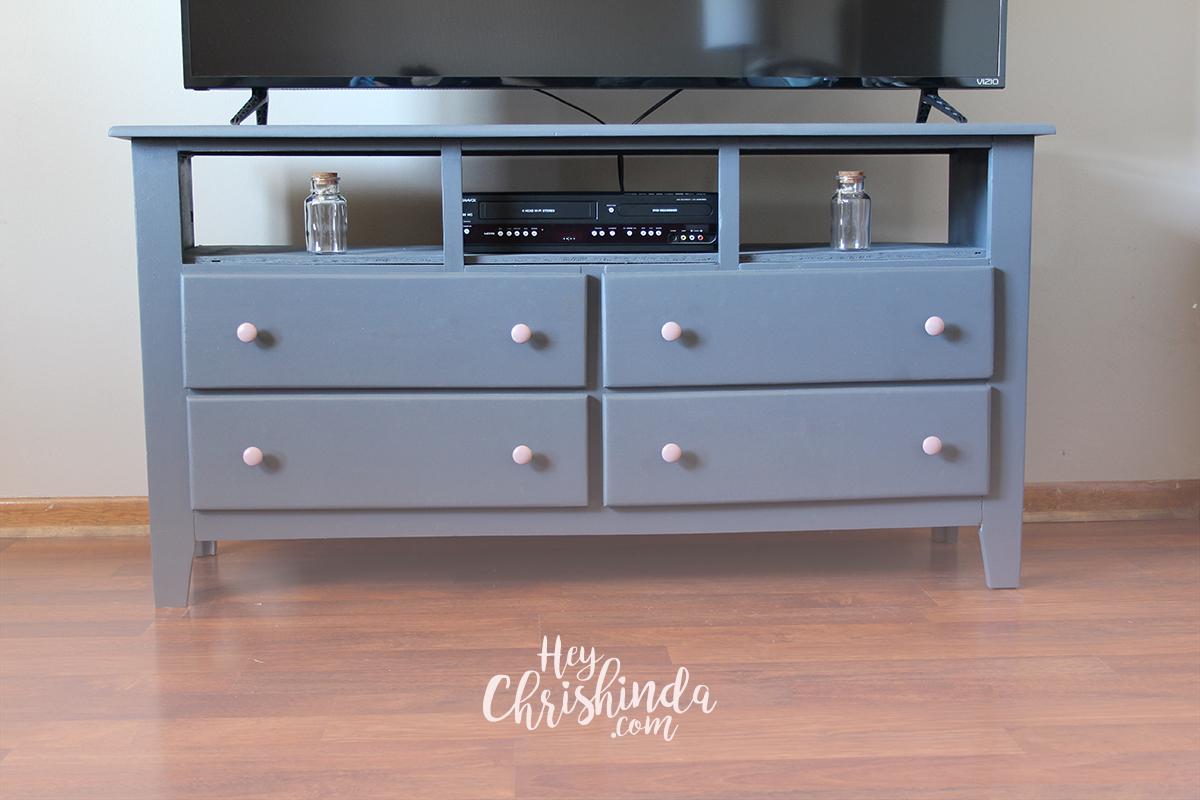 Diy Dresser Turned Tv Stand  Heychrishindam. Gloster Furniture. Modern Entry Doors. Lazyboy Sectionals. Alpine White Granite. Oversized Beds. Ultimate Granite. Backless Bar Stool. Backyard Creations