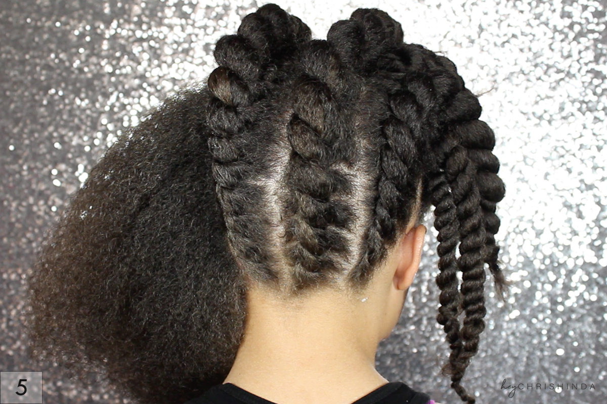 How To Roll Natural Hair On Perm Rods