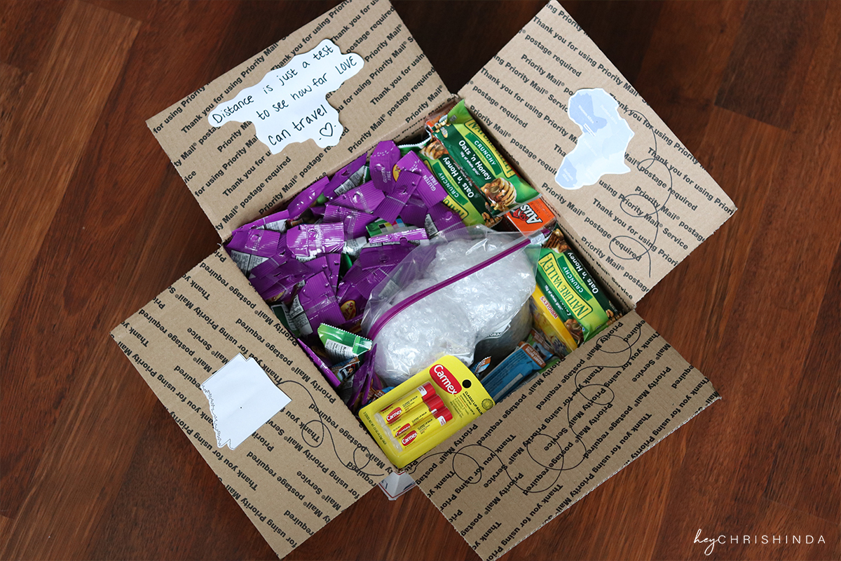 military care package ideas | hey chrishinda